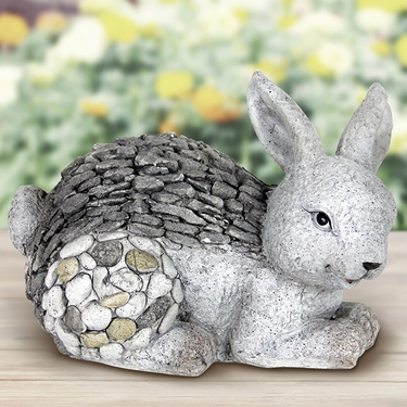 Stone Art Rabbit Statue - Click to enlarge