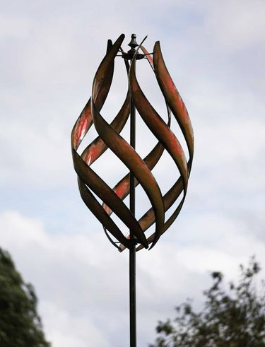 Stratus Wind Spinner - Copper - Click to enlarge