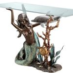 Sultry Mermaid Console Table