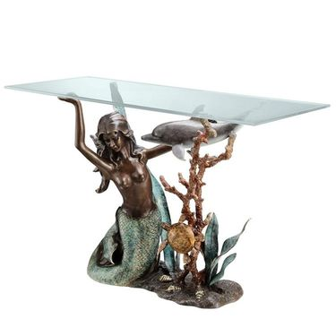 Sultry Mermaid Console Table - Click to enlarge