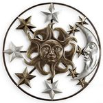 Sun Moon & Stars Wall Art Decor