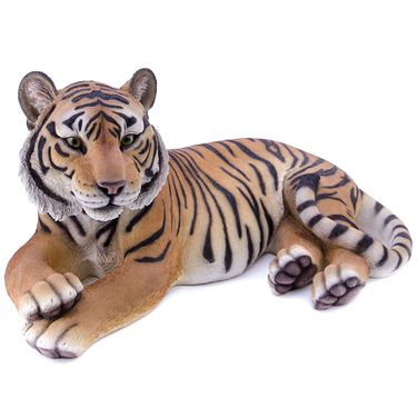 Tiger Laying Down Statue