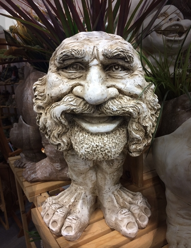 Uncle Axle Face Planter - Antique Finish - Click to enlarge