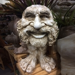 Uncle Axle Face Planter - Antique Finish