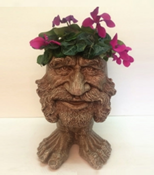 Uncle Axle Face Planter - Stone Wash Finish - Click to enlarge