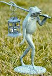 Walking Frog w/Candle Lantern