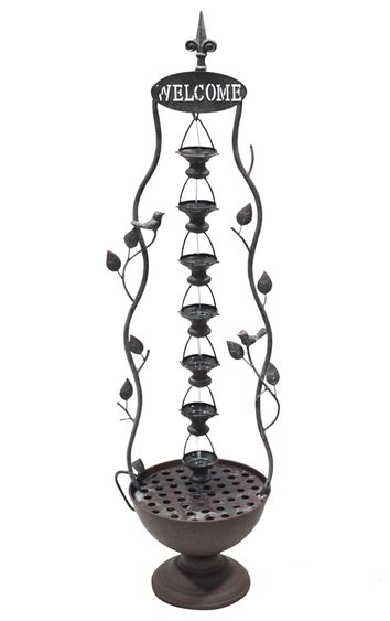 Welcome Drip Cups Tabletop Fountain - Click to enlarge