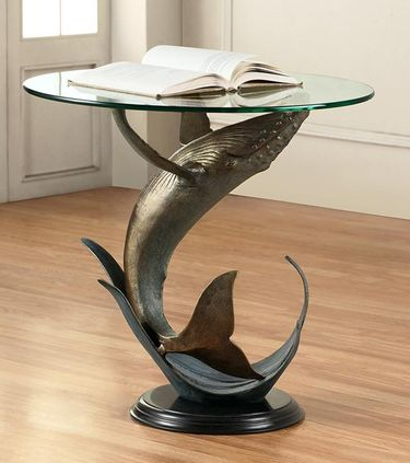 Whale End Table - Click to enlarge