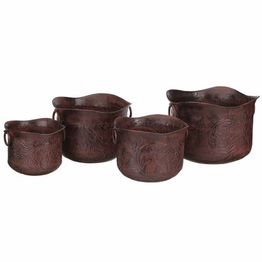 Wild West Nesting Planters (Set of 4) - Click to enlarge