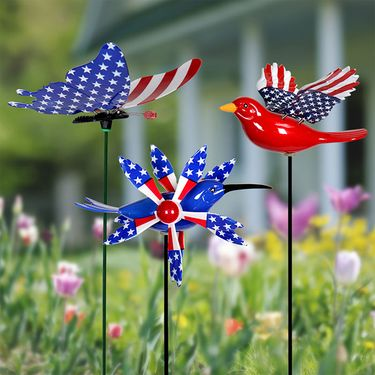 Windy Wings Americana Stakes (Set of 6) - Click to enlarge