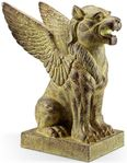 Winged Lion Garden Sculpture