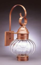 "10"" Onion Wall Light Fixture Without Cage <font color=a8bb25> Sold Out</font>"