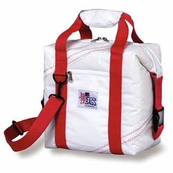Newport 12-pack Soft Sailcloth Cooler Bag