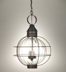 "16"" Round Hanging Onion Lantern <font color=a8bb25> Sold Out</font>"