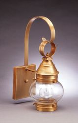 "6"" Onion Wall Light Fixture Without Cage <font color=a8bb25> Sold Out</font>"