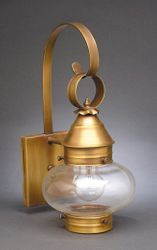 "7"" Onion Wall Light Fixture Without Cage <font color=a8bb25> Sold Out</font>"