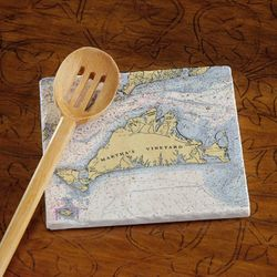 "8"" Marble Trivet - Choose Your Location"