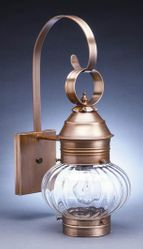 "8"" Wall Mount Onion Lantern <font color=a8bb25> Sold Out</font>"