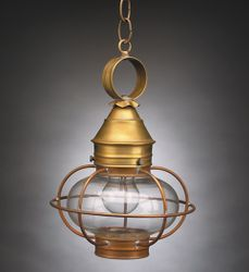 "9"" Onion Hanging Light Fixture <font color=a8bb25> Sold Out</font>"