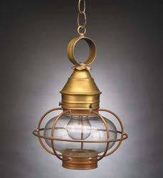 "9"" Onion Hanging Light Fixture"