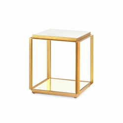 Abbott Side Table in White