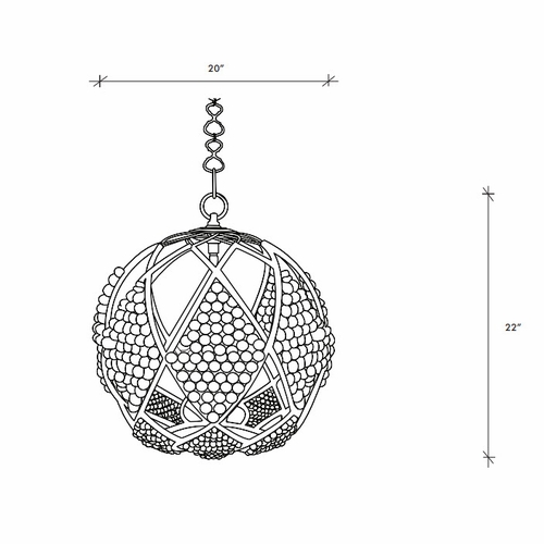 Adelaide Chandelier - Two Size Options
