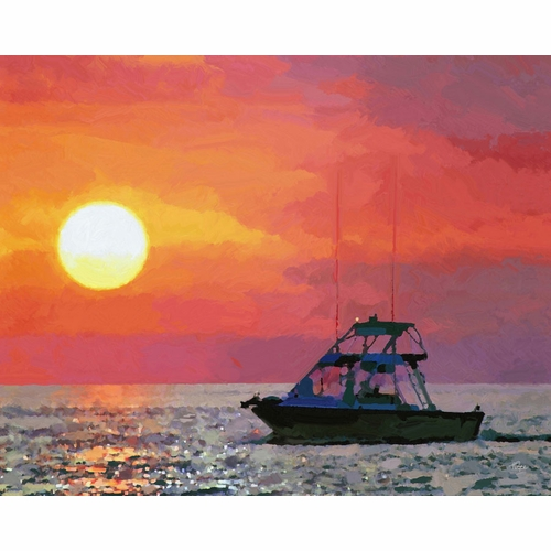 After The Catch Giclee