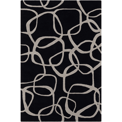 Amarion Black Hand Tufted Rug