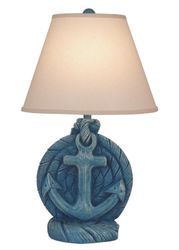 Weathered Deep Sea Anchor Table Lamp