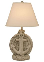 Anchor Table Lamp in Seastone