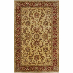 Ancient Treasures Hand Tufted Rug <font color=a8bb35>NEW</font>