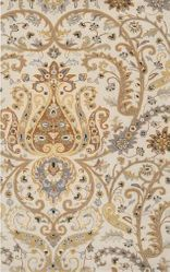 Ancient Treasures Khaki Hand Tufted Rug <font color=a8bb35> NEW</font>