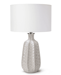 Antigua Ivory Ceramic Table Lamp <font color=a8bb35> NEW</font>