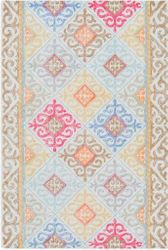 Antigua Mint Hand Tufted Rug <font color=a8bb35> NEW</font>