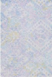 Antigua Sky Blue Hand Tufted Rug <font color=a8bb35> NEW</font>