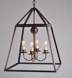 Appledore 4-Light Hanging Pendant Light