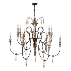 Arabella Chandelier Large <font color=a8bb35>NEW</font>