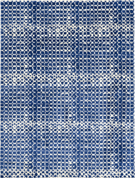 Argo Navy Hand Knotted Wool Rug  15% Off