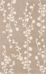Athena Taupe/Ivory Hand Tufted Rug *Low Stock