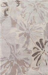 Athena Taupe Light Gray Hand Tufted Rug <font color=a8bb35> NEW</font>
