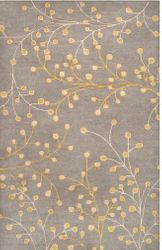 Athena Taupe Mustard Hand Tufted Rug *Low Stock