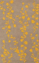 Athena Taupe Saffron Hand Tufted Rug *Low Stock