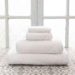 Banded White/White Bath Towels<font color=cf2317> 20% Off</font>