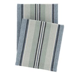 Barbados Woven Cotton Throw <font color=a8bb35> NEW</font>