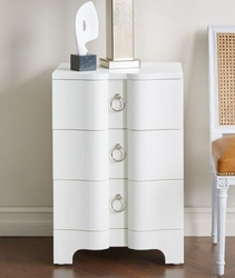 Bardot 3-Drawer Side Table in 3 Colors