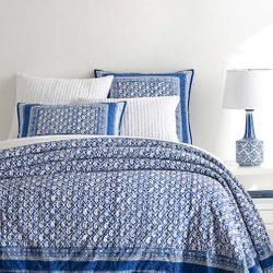 Batik Blue Coverlet *NEW 15% Off