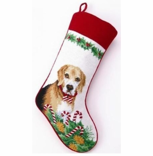 Beagle Christmas Stocking<font color =a8bb35> Sold out</font>