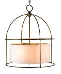 Benson 4-Light Bronze Lantern