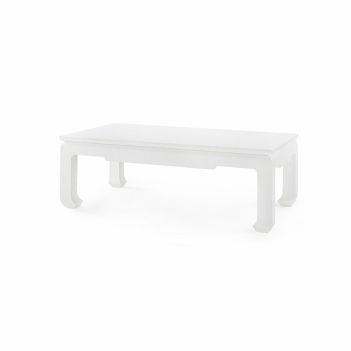 Bethany Coffee Table White in 3 Sizes