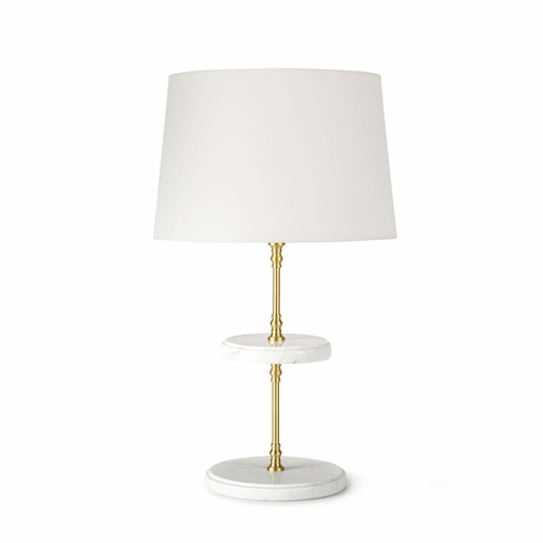 Bistro Natural Brass Table Lamp